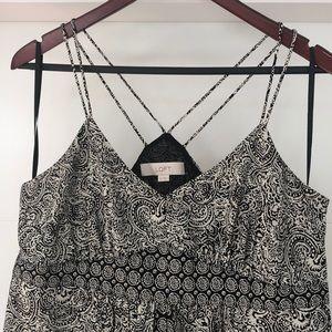 Ann Taylor LOFT Maxi Dress Empire Waist